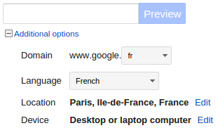 AdWords Preview and Diagnosis Tool