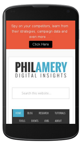 Mobile friendly test for philamery.com